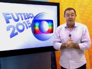 Madson Delano e as notícias sobre o jogo entre ASA e Palmeiras  (Foto: Reprodução/TV Gazeta)