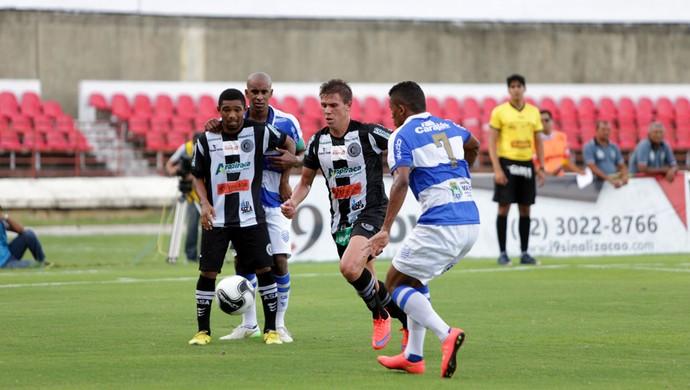 CSA x ASA, no Estádio Rei Pelé (Foto: Ailton Cruz/Gazeta de Alagoas)