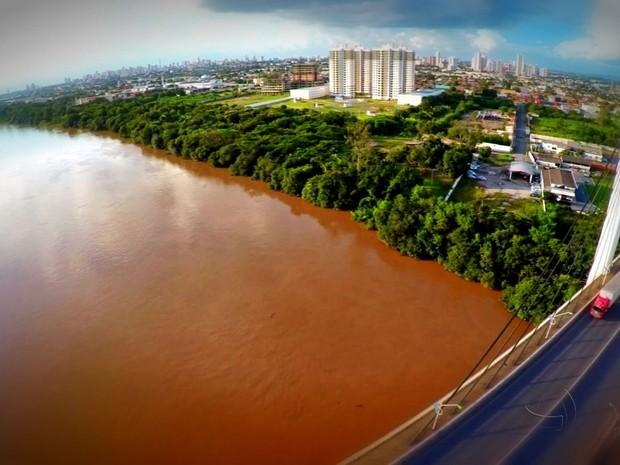 Rio Cuiabá (Foto: Reprodução/ TVCA)