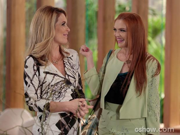 Cláudia Abreu e Titina Medeiros retomam parceria de sucesso em Geração Brasil (Foto: Felipe Monteiro/TV Globo)