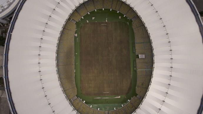 Maracanã abandonado (Foto: AP)