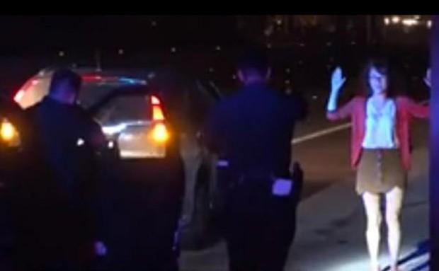 Turista não percebe que era para encostar o veículo e acabou gerando perseguição policial (Foto: Reprodução/Kero)