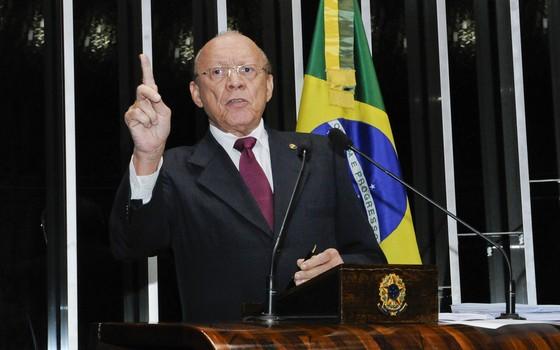 O presidente da Comissão de Ética do Senado João Alberto (PMDB-MA) (Foto:  Waldemir Barreto/Agência Senado)