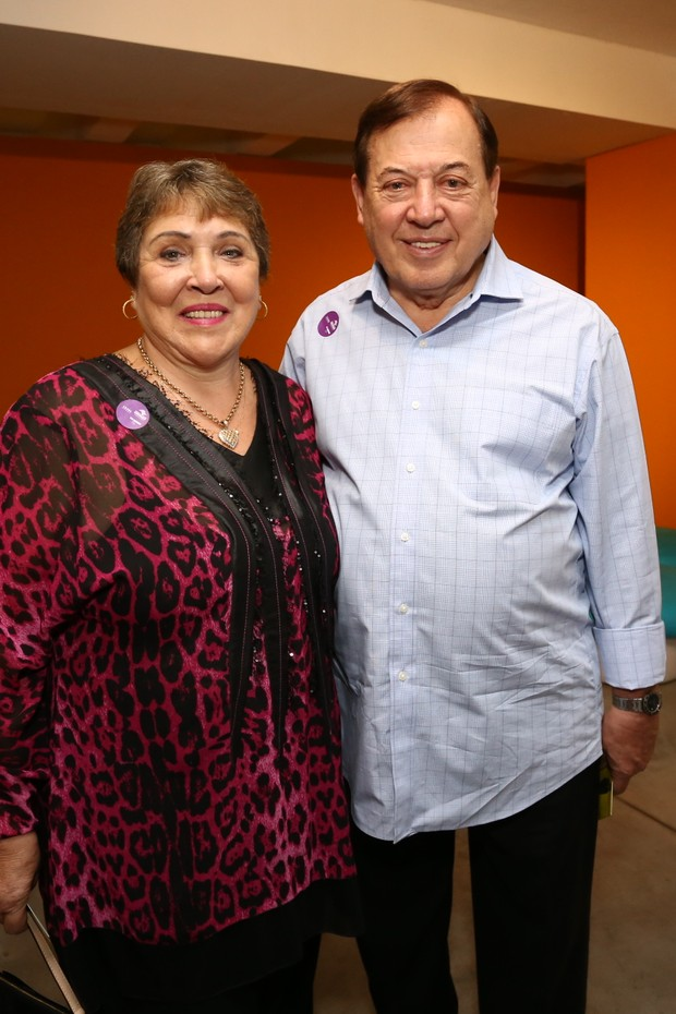 Famosos e familiares na abertura para convidados da Exposição Silvio Santos vem aí (Foto: Cláudio Augusto/Brazil News)