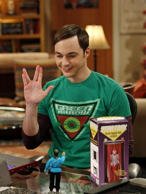 Sheldon Cooper em The Big Band Theory (Foto: Divulgação)