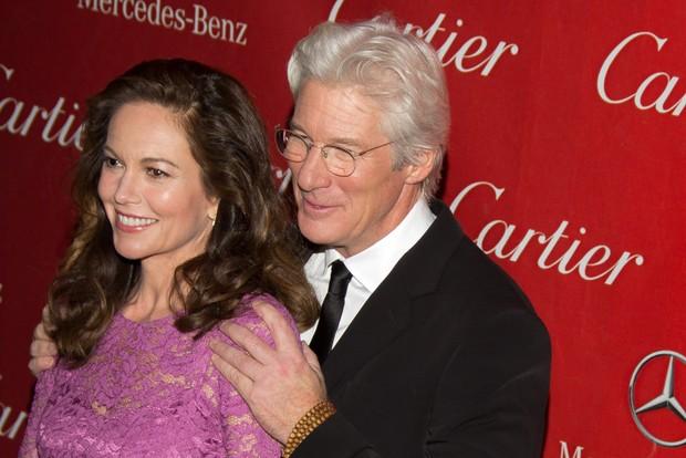 Diane Lane e Richard Gere (Foto: Splash/Agência)