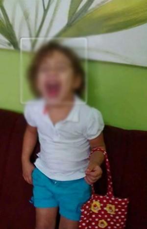 Criança é atingida por bala perdida na Zona Norte do Rio (Foto: Reprodução / Arquivo Pessoal)