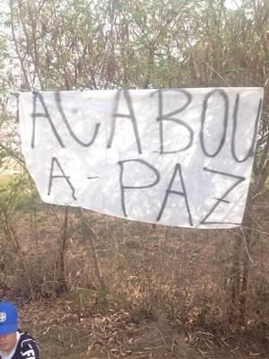 protesto corinthians (Foto: André Hernan)