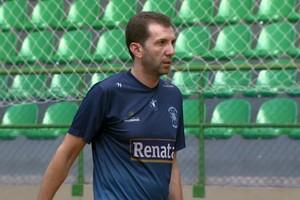 André Rosendo, técnico do Vôlei Valinhos (Foto: Reprodução EPTV)