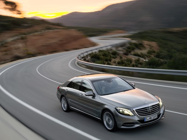 Mercedes-Benz Classe S S400 Hybrid (Foto: Divulgao)