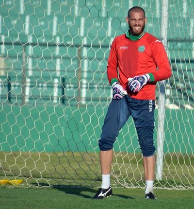 Rafael Santos goleiro Guarani (Foto: Murilo Borges)