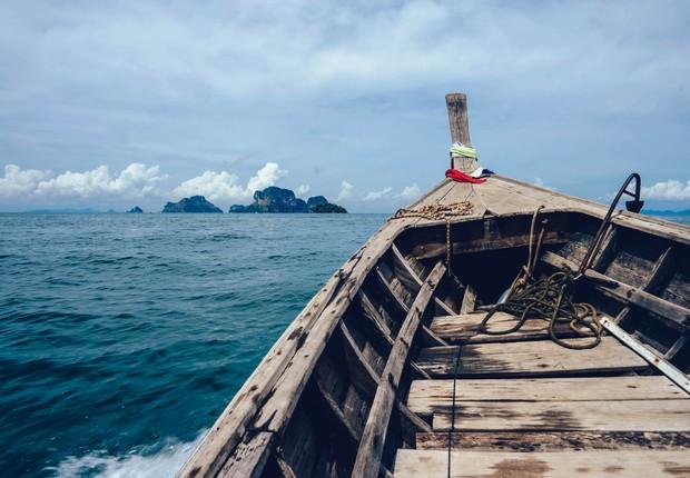 oceano-mar-barco (Foto: Pexels)