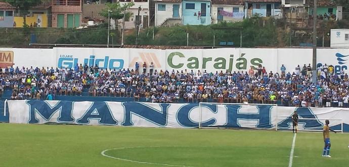 CSA x Itabaiana, no Mutange (Foto: Viviane Leão/GloboEsporte.com)