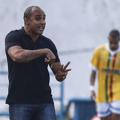 Deivid Criciúma contra Santo André (Foto: ALE VIANNA/Eleven/ESTADÃO CONTEÚDO)