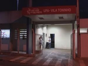 Unidade de Pronto Atendimento da Vila Toninho, em Rio Preto (Foto: Reprodução/TV TEM)
