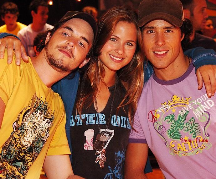 Luiza Valdetaro foi a protagonista da temporada 2006 de 'Malhação', ao lado de Gabriel Wainer e Bernardo Melo Barreto (Foto: Márcio de Souza / TV Globo )