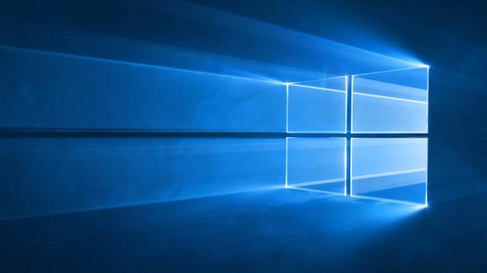 A luz irradia através do logo do Windows 10 (Reprodução/YouTube) (Foto: A luz irradia através do logo do Windows 10 (Reprodução/YouTube))
