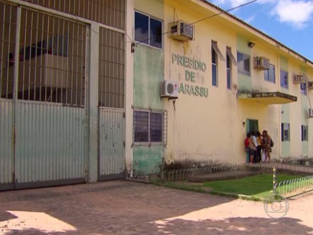 Presídio de Igarassu (Foto: TV Globo/Reprodução)