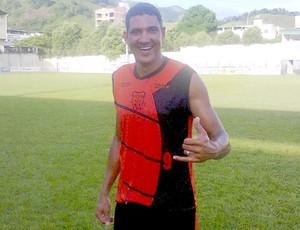 Zé Afonso, atacante do Castelo (Foto: Divulgação/Castelo FC)