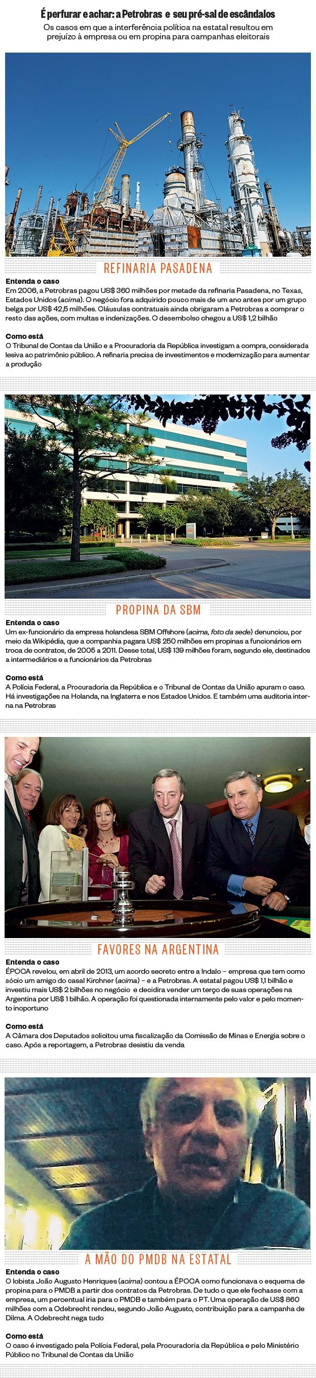 É perfurar e achar: a Petrobras e seu pré-sal de escândalos  (Foto: Richard Carson/Petrobras, reprodução (3))