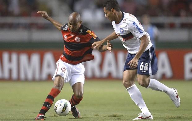Wellington Silva, Flamengo e Bahia (Foto: Mauricio Val / Vipcomm)