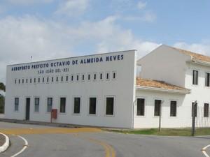 Aeroporto de São João del Rei (Foto: Socicam/Divulgação)