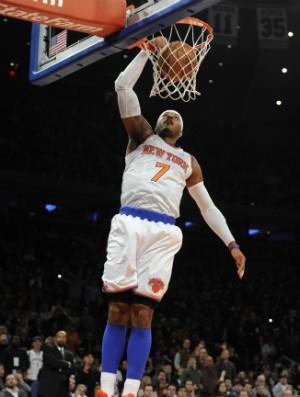 Carmelo Anthony, New York Knicks - AP (Foto: AP)