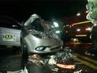 Taxista é resgatado após ficar preso às ferragens em acidente no RS