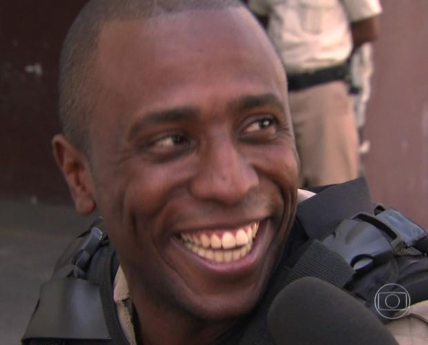Guarda Municipal faz sucesso no funk (Foto: TV Globo)