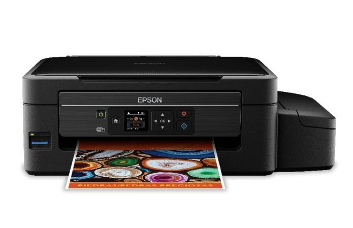 Multifuncional EcoTank L475 da Epson promete menor custo por impressão (Foto: Divulgação/Epson)