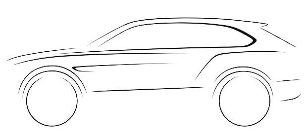 Taser do futuro Bentley SUV (Foto: Bentley)