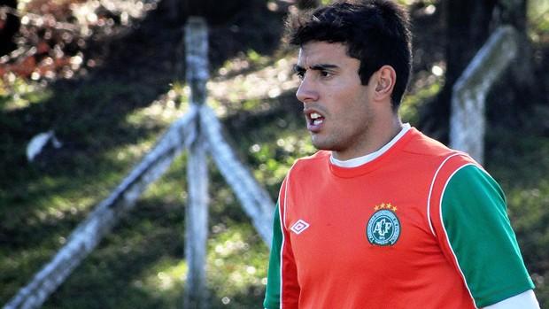 Alan lateral Chapecoense (Foto: Aguante/Chapecoense)