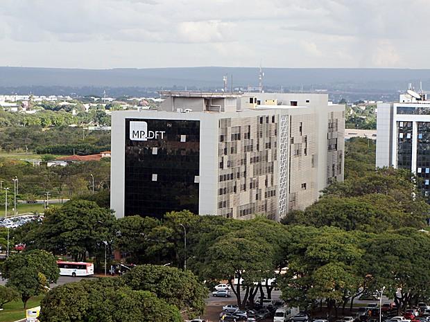 Sede do Ministério Público do Distrito Federal localizada no Eixo Monumental, Praça do Buriti, Lote 2 (Foto: Ricardo Moreira / G1)