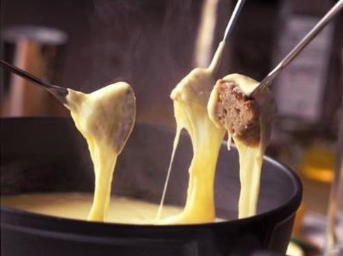 Fondue de queijo delícia
