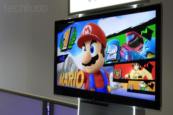 Super Smash Bros apresentou sua versão para Wii U e não decepcionou na E3 2014 (Foto: Isadora Díaz/ TechTudo)