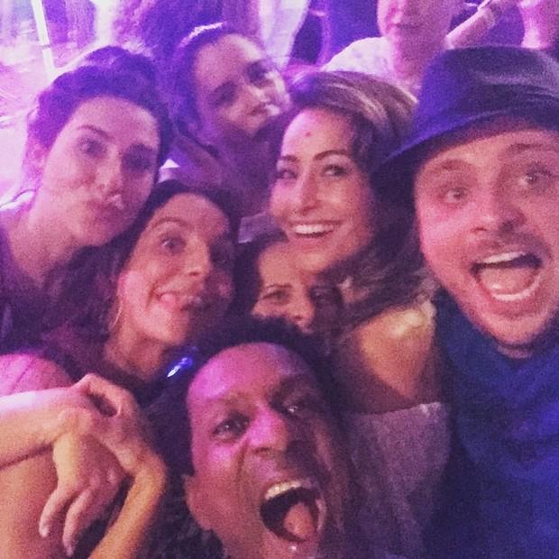 Famosos comemoram aniversário de Ivete Sangalo (Foto: Reprodução/Instagram)