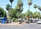 Praça teve execuções de presos e 1ª feira (Carlos Palmeira/ G1)
