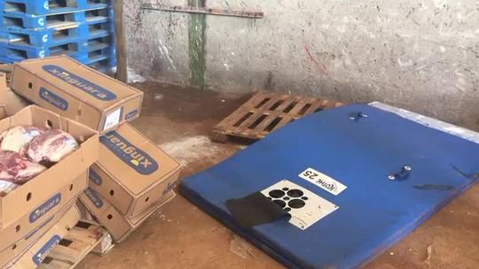Dois homens são presos no DF com 10 toneladas de carne roubada