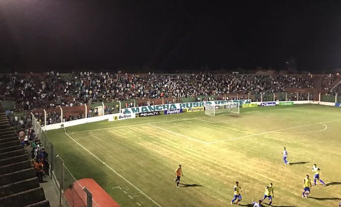 Aldo Dapuzzo, estádio do São Paulo-RS (Foto: São Paulo-RS / Twitter / DVG)
