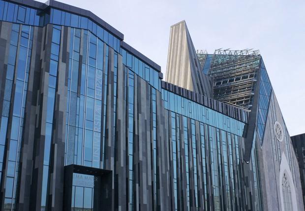 Universidade de Leipzig, na Alemanha (Foto: Reprodução/Facebook)