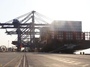 Porto de Paranaguá registra aumento de 14% em exportações de congelados (Foto: Divulgação/Agência Estadual de Notícias)