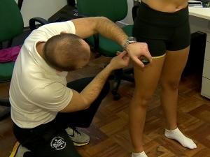 Vida e Saúde mostra avaliação física (Foto: Reprodução/RBS TV)
