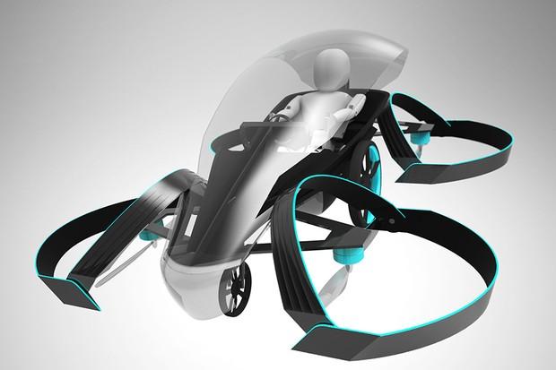 Skydrive, projeto de carro voador da Cartivator (Foto: AFP PHOTO / CARTIVATOR RESOURSE MANAGEMENT)
