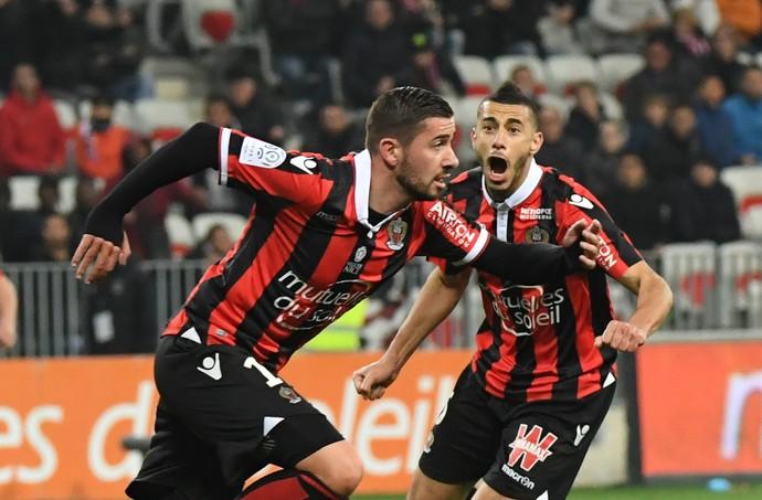 Mickael Le Bihan Nice Montpellier (Foto: AFP)