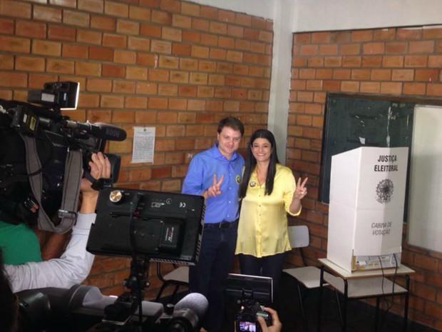 Rose Modesto e Cláudio Mendonça (Foto: Carla Salentim/G1 MS)