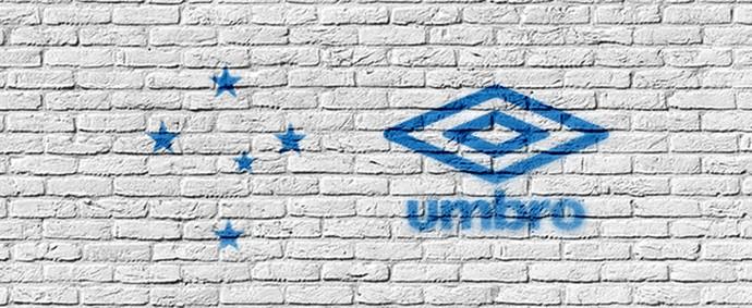 Umbro será a nova fornecedora de material esportivo do Cruzeiro (Foto   Divulgação CEC 35a0e2e92bb23