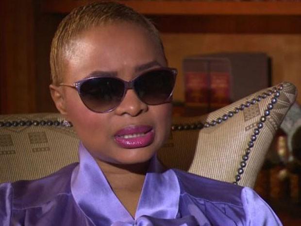 Josina Machel diz que foi golpeada com dois socos quando disse que pretendia ir à casa da mãe. (Foto: BBC)