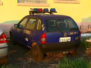 Carros usados pela GCM também estariam apresentando problemas Araraquara (Foto: Felipe Lazzaroto/EPTV)