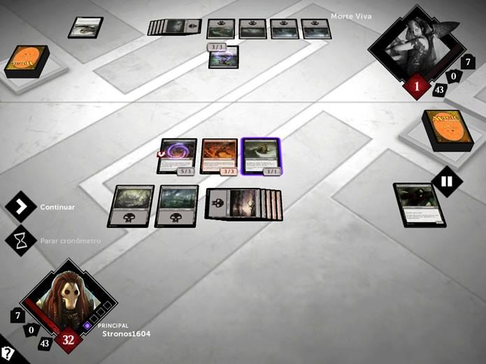 Magic 2015 trás uma excelente versão virtual do famoso cardgame Magic: The Gathering (Foto: Reprodução/Daniel Ribeiro)