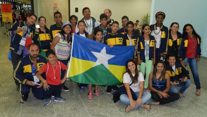 Delegação de Rondônia conquistou 13 medalhas nas Paralimpíadas Escolares (Foto: Decom/Divulgação)